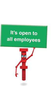 It's open to all employees