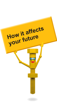 How it effects your future